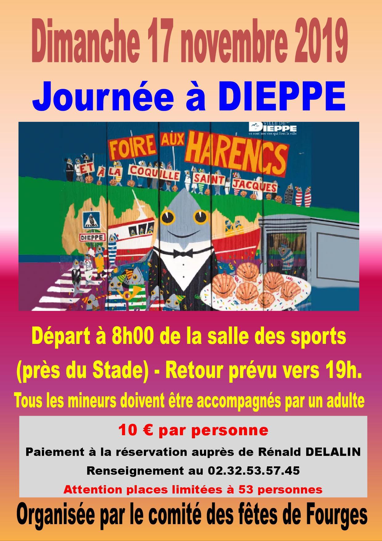 Fourges Journee A Dieppe Vexin Sur Epte